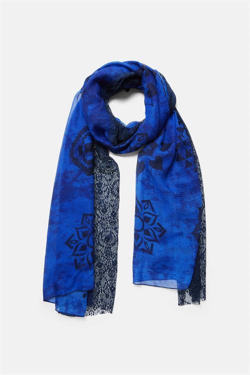 šátek Desigual Mistery blue moon
