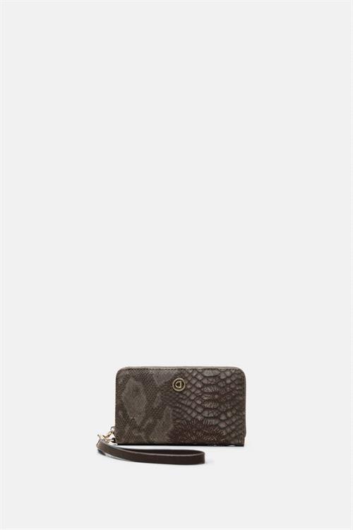 peněženka Desigual Criseida Mini Zi chocolate