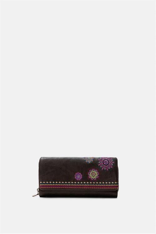 peňaženka Desigual Astoria Mari marron oscuro