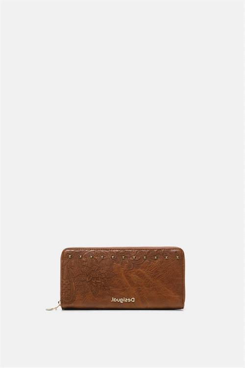 peněženka Desigual Martini Zip marron oscuro