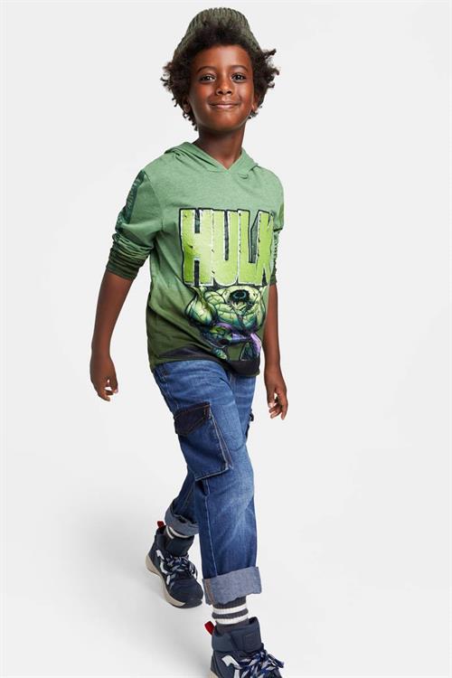 tričko Desigual Angry verde house