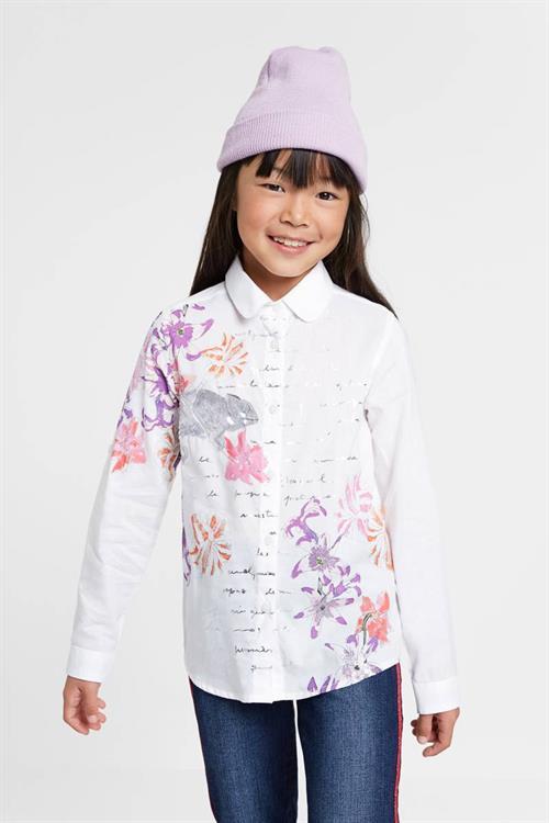 košile Desigual Helena blanco