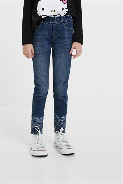 jeansy Desigual Marti denim dark blue