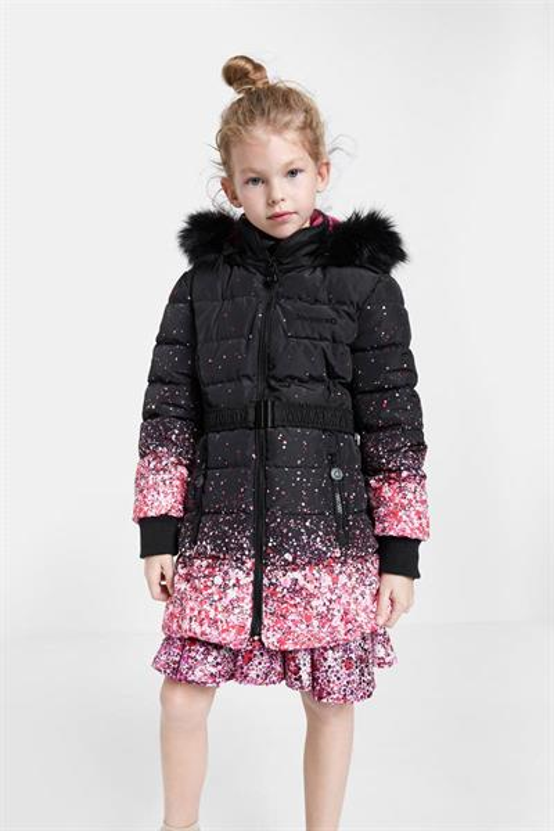 kabát Desigual Aguacate negro
