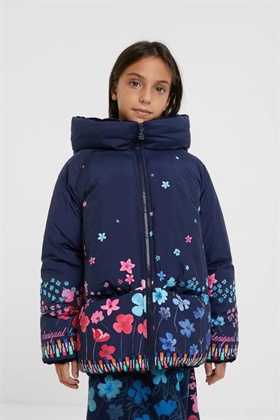bunda Desigual Macedonia navy