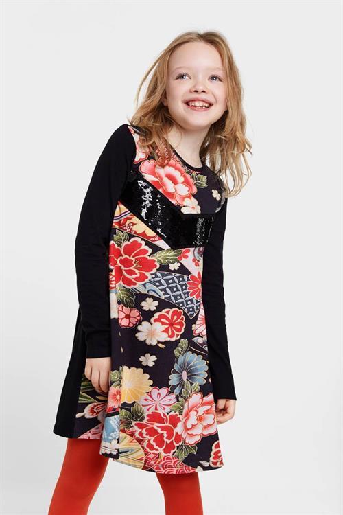 šaty Desigual Minatitlán negro