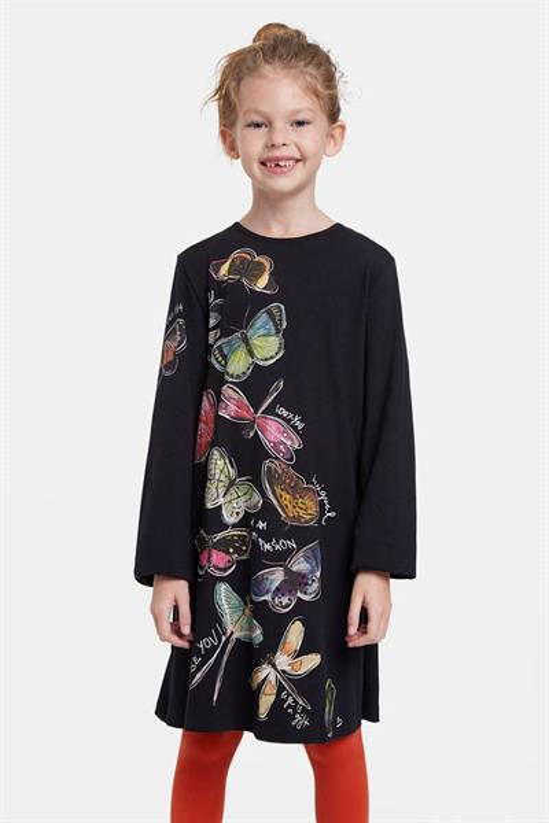šaty Desigual Naucalpan negro