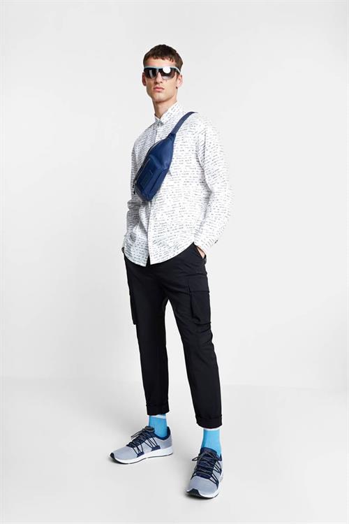 košile Desigual Jon blanco