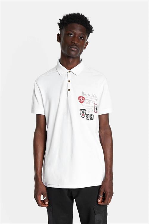 tričko Desigual Ponce blanco