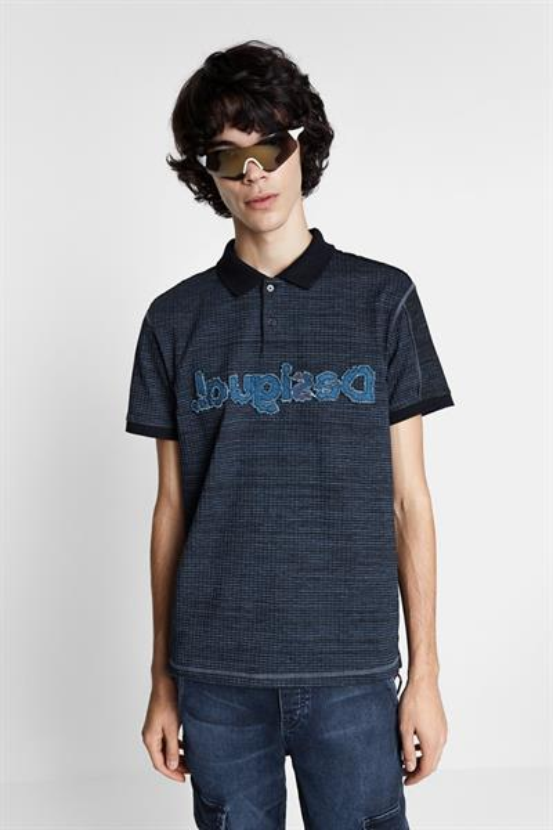 tričko Desigual Prisco navy