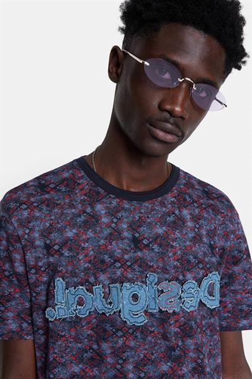 tričko Desigual Diego marino