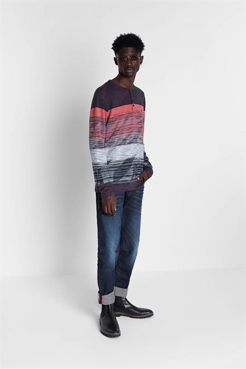 tričko Desigual Elio marino