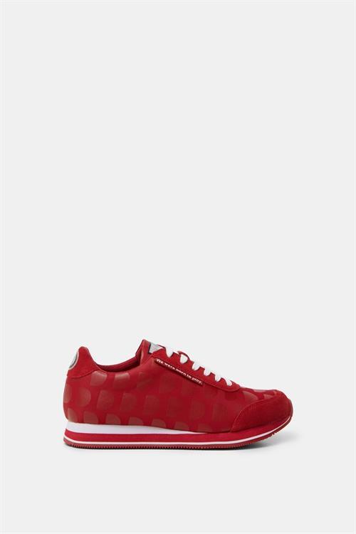 topánky Desigual Pegaso Logoman rojo roja