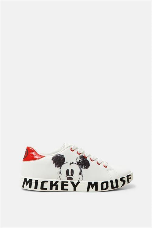 boty Desigual Cosmic Mickey blanco
