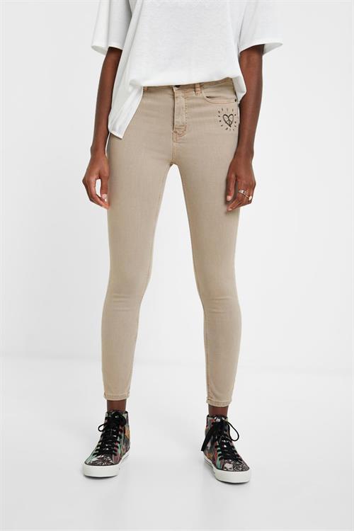 jeansy Desigual Alba piedra