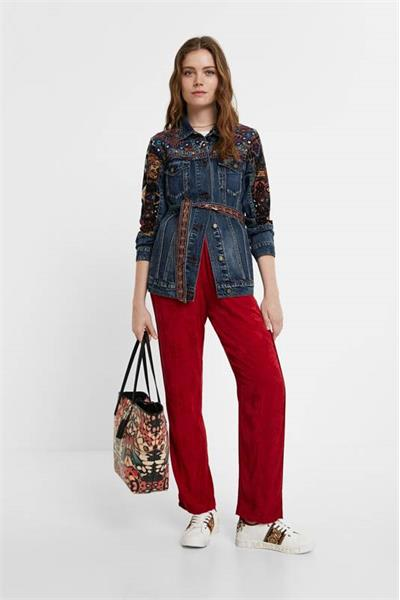 bunda Desigual Athlas denim medium dark