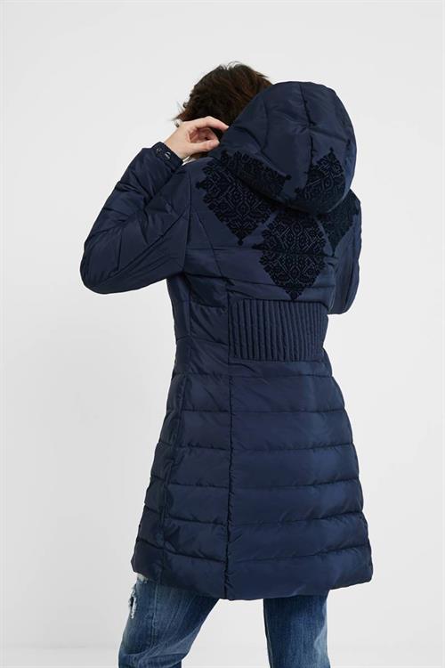 kabát Desigual Lena marino