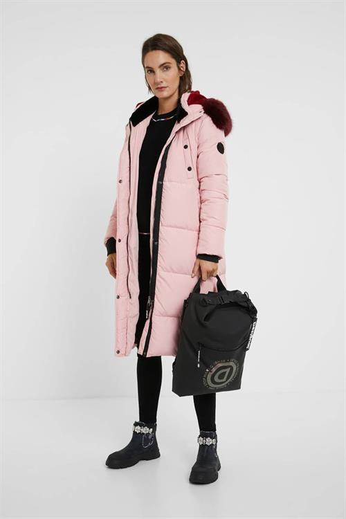 kabát Desigual Sveta rosa salvaje