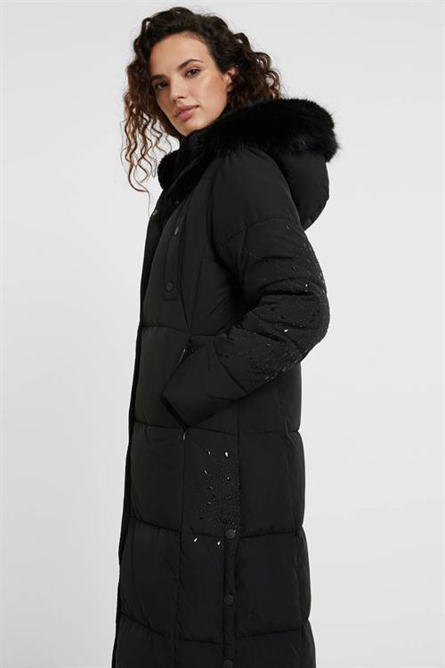 kabát Desigual Katia negro