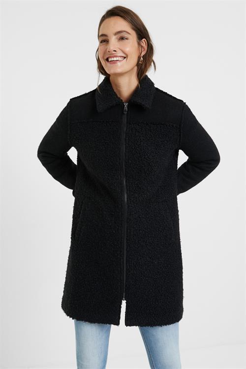 kabát Desigual Inrit negro