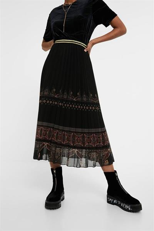 sukňa Desigual Murray negro