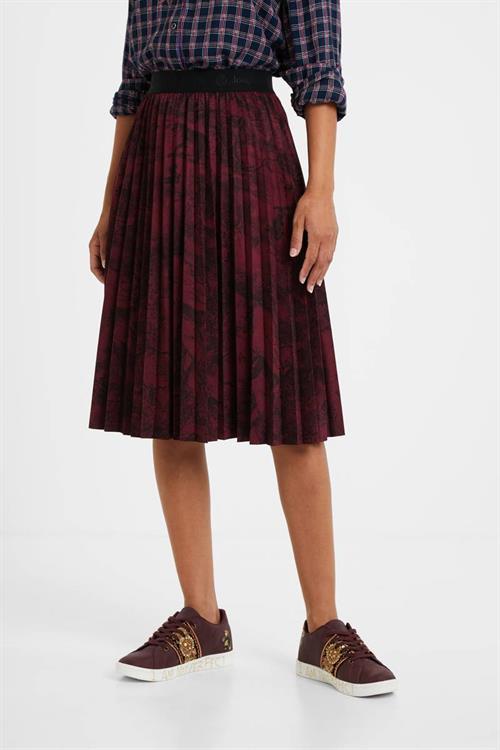 sukňa Desigual Cooper rhododendro