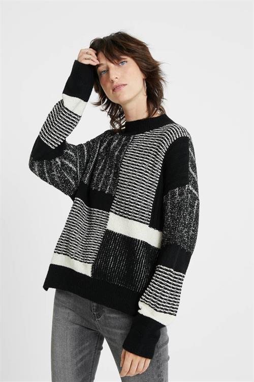 sveter Desigual Savona negro