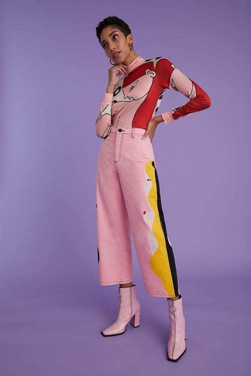 jeansy Desigual You&You quartz pink