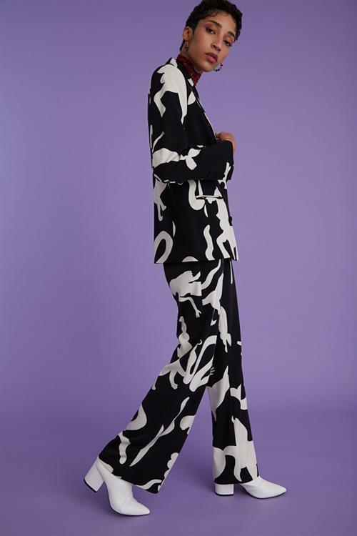 kalhoty Desigual Simone negro