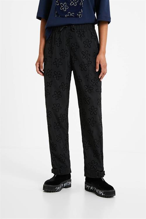 kalhoty Desigual Emilie negro