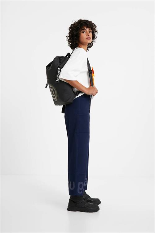 kalhoty Desigual Ariane azul mientas