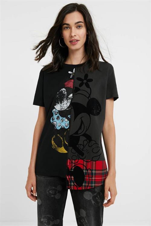 tričko Desigual Minniemix negro