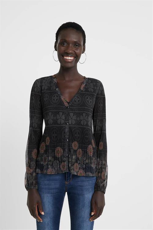 tričko Desigual Magda negro