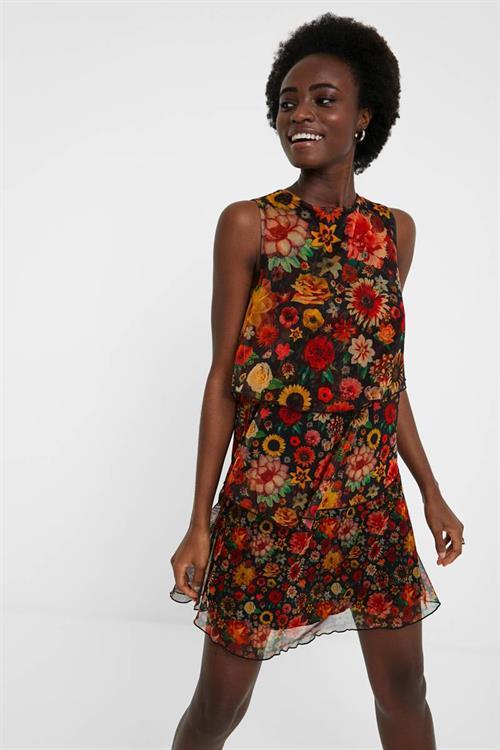 šaty Desigual Luisi negro
