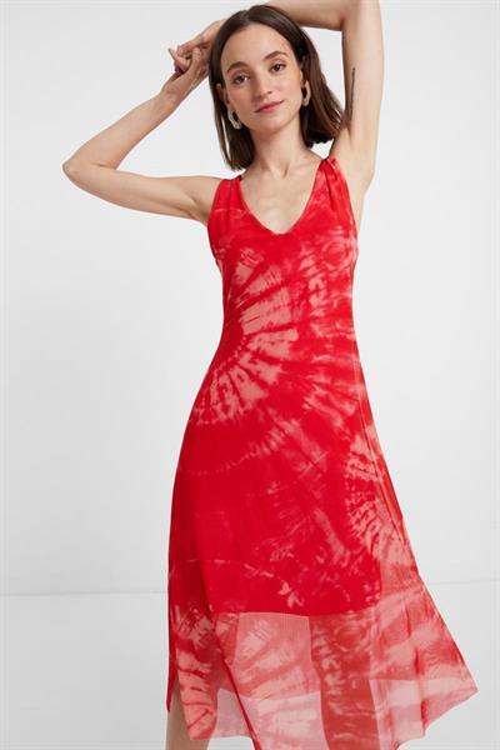 šaty Desigual Tie Dye