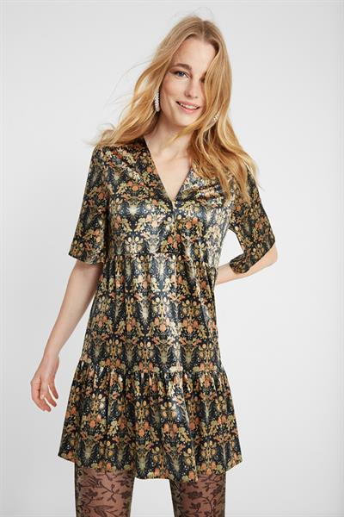 šaty Desigual Pineda dorado