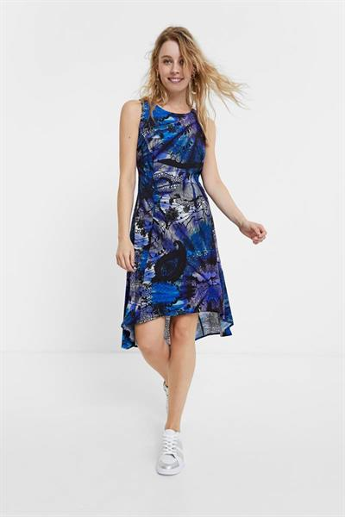 šaty Desigual Nora azul niza