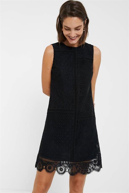 šaty Desigual Madrid negro