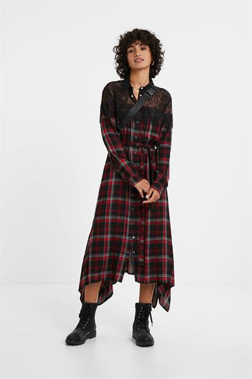 šaty Desigual Seattle negro