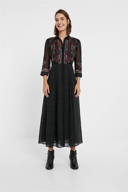 šaty Desigual Anne negro