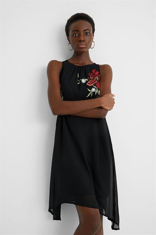 šaty Desigual Roma negro
