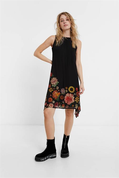 šaty Desigual Lugano negro