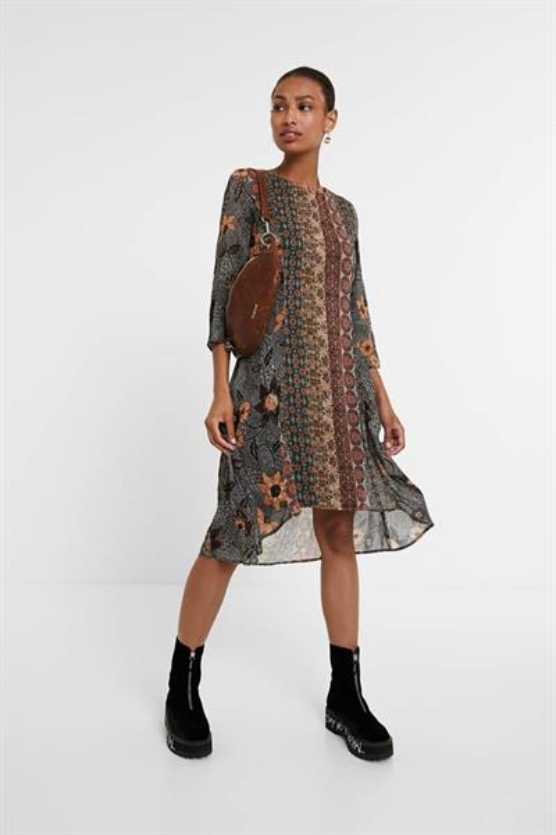 šaty Desigual Pisa mustang