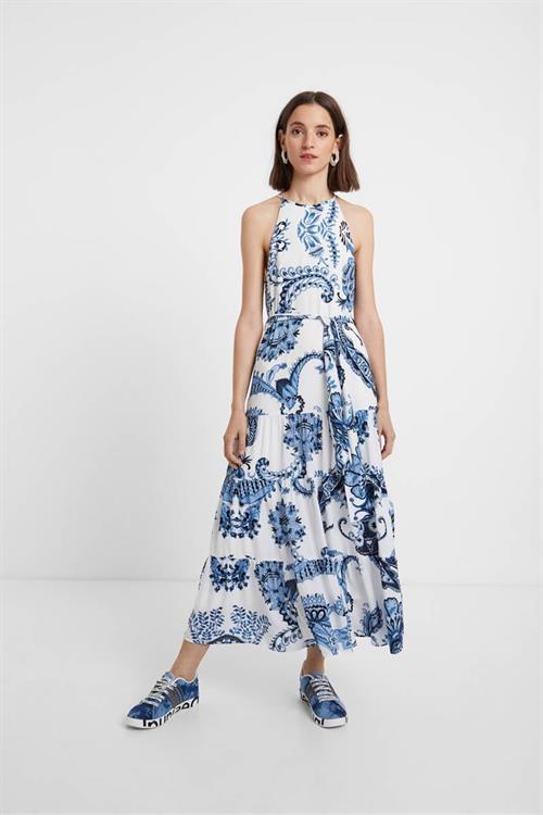 šaty Desigual Qais blanco