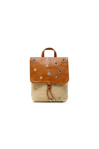 batoh Desigual July Denim Arola beige