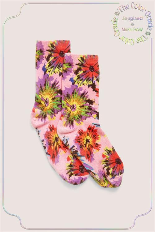 ponožky Desigual Bing rosa bombon