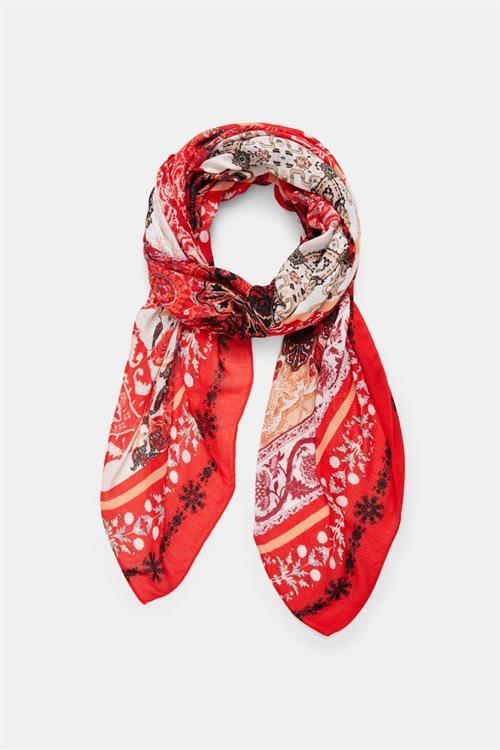 šátek Desigual Indonesios Patch crudo v