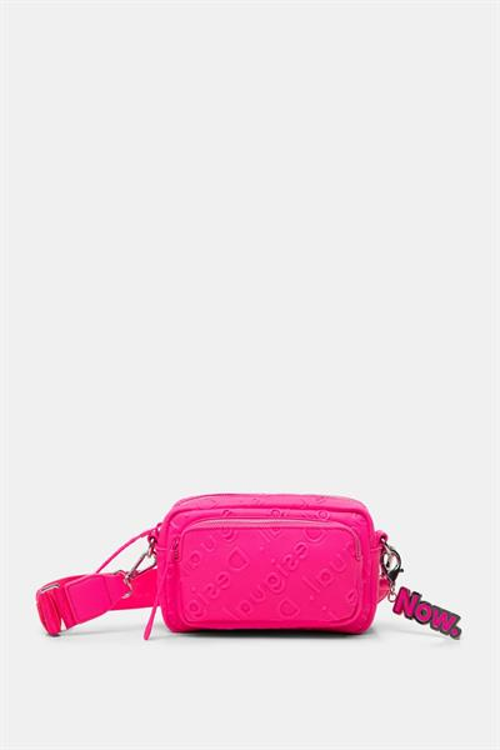 kabelka Desigual Colorama Petra rosa fluor