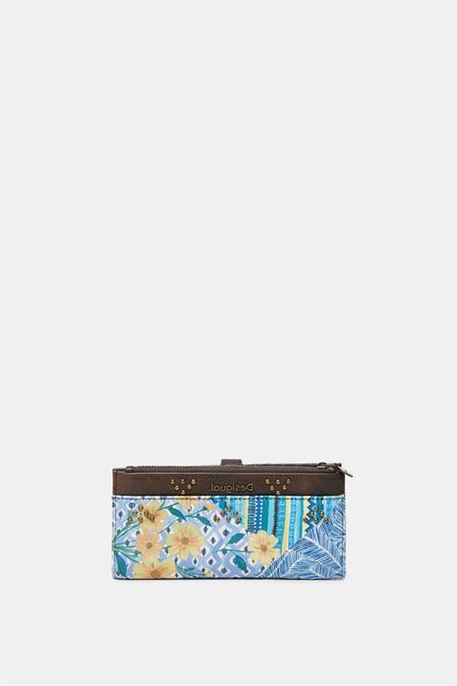 peňaženka Desigual Freyja Pia azul agua