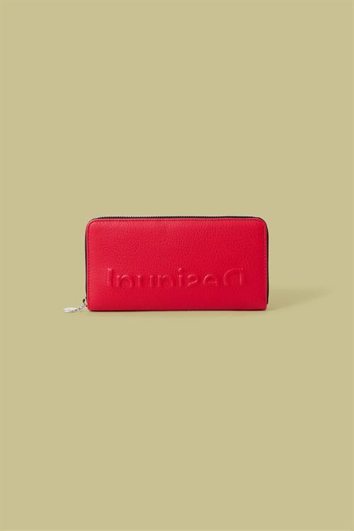 peňaženka Desigual Embossed Half Fiona rojo